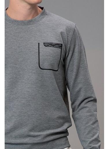 Lufian Sweatshirt Gri